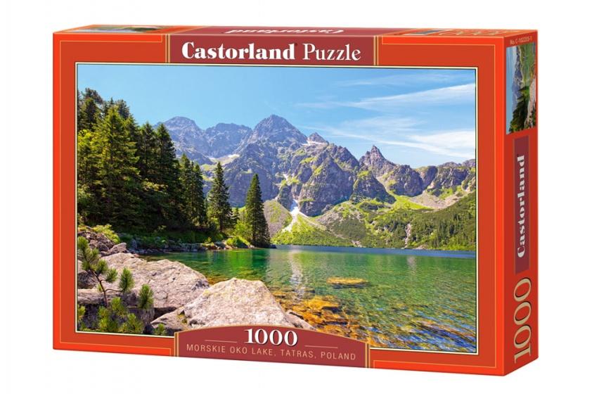 Castorland legpuzzel Morskie Oko lake, Tatras, Poland 1000 stukjes