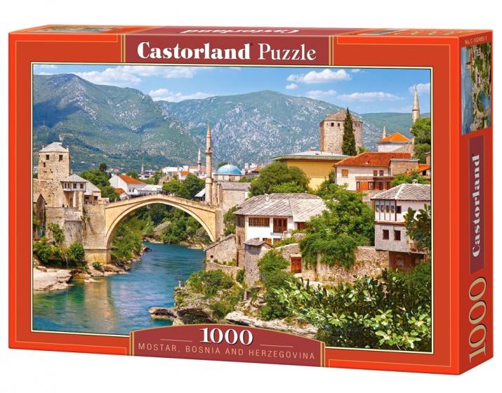 Castorland legpuzzel Mostar, Bosnia and Herzegovina 1000 stukjes