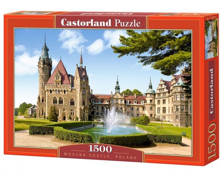 Castorland legpuzzel Moszna Castle, Poland 1500 stukjes