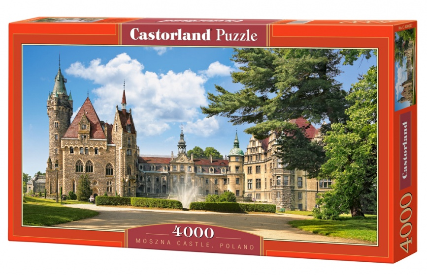 Castorland legpuzzel Moszna Castle, Poland 4000 stukjes