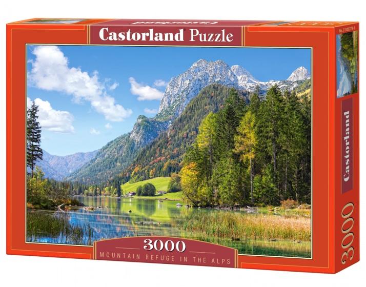 Castorland legpuzzel Mountain Refuge in the Alps 3000 stukjes