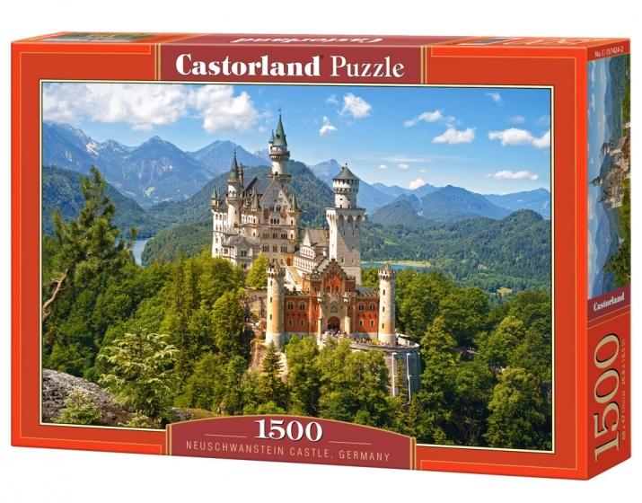 Castorland legpuzzel Neuschwanstein Castle 1500 stukjes