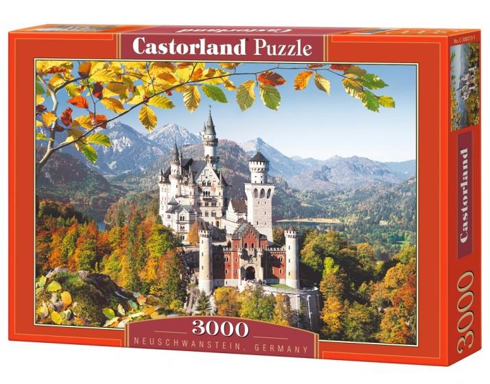 Castorland legpuzzel Neuschwanstein, Germany 3000 stukjes