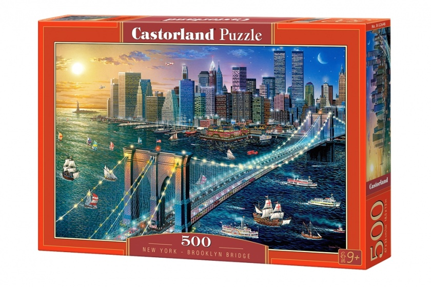 Castorland legpuzzel New York Brooklyn Bridge 500 stukjes