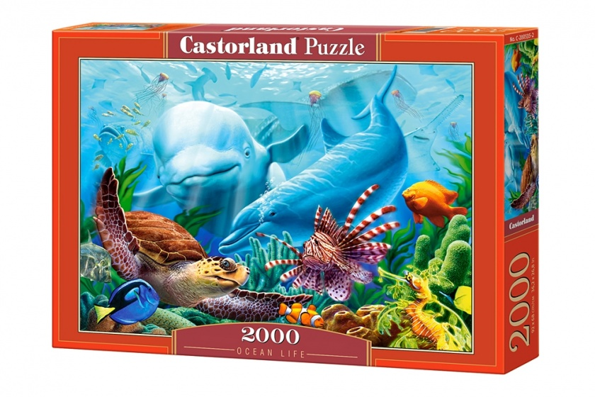 Castorland legpuzzel Ocean Life 2000 stukjes