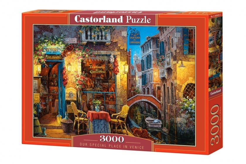 Castorland legpuzzel Our Special Place in Venice 3000 stukjes