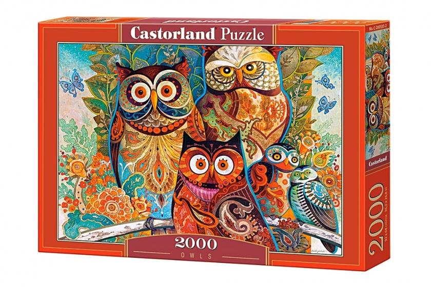 Castorland legpuzzel Owls 2000 stukjes