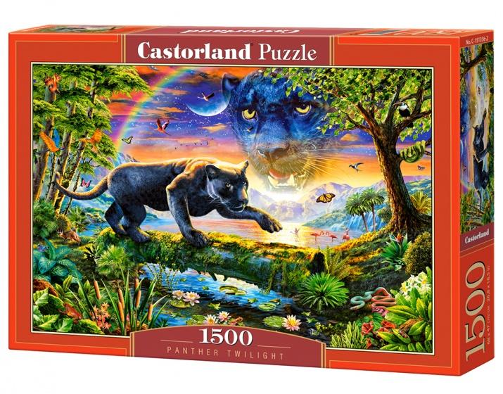 Castorland legpuzzel Panther Twillight 1500 stukjes