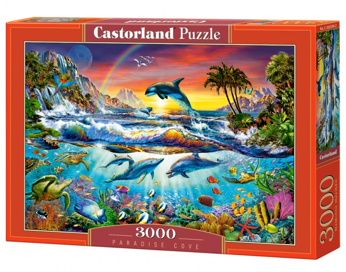 Castorland legpuzzel Paradise Cove 3000 stukjes