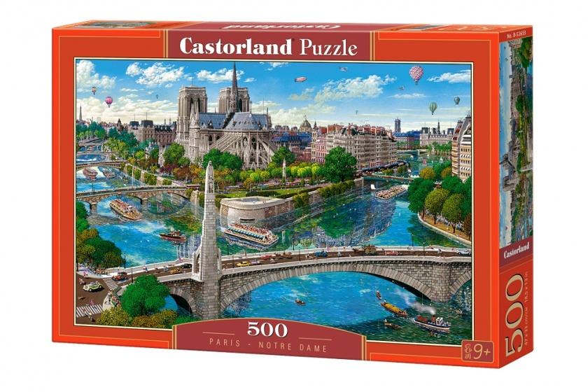 Castorland legpuzzel Paris Notre Dame 500 stukjes