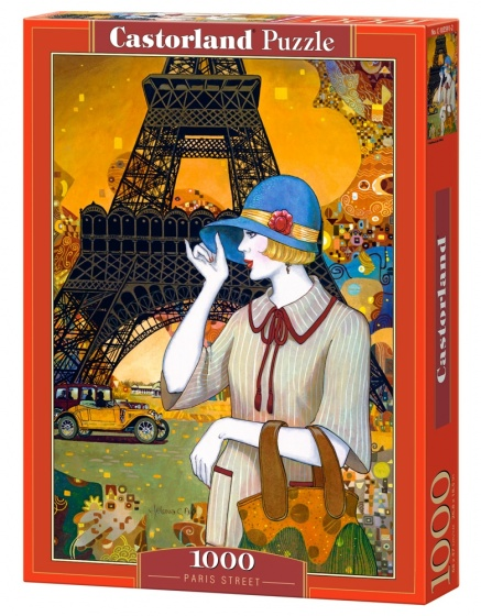 Castorland legpuzzel Paris Street 1000 stukjes