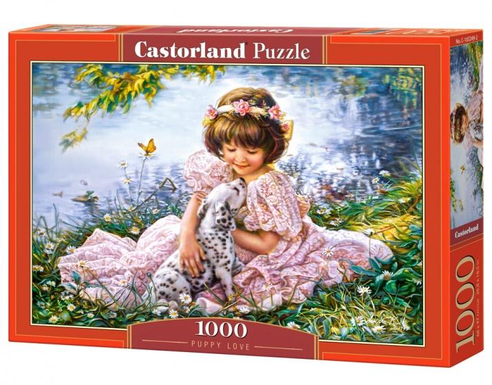Castorland legpuzzel Puppy Love 1000 stukjes