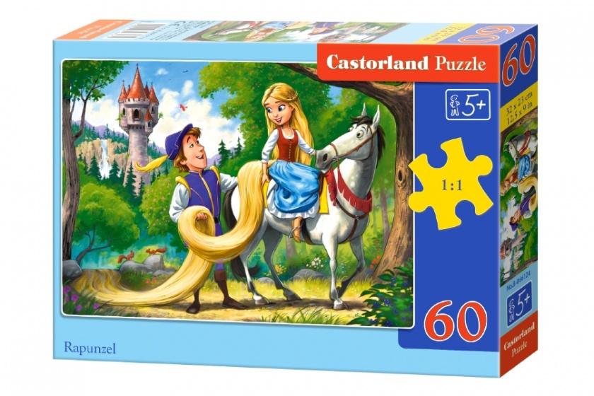 Castorland legpuzzel Rapunzel 60 stukjes