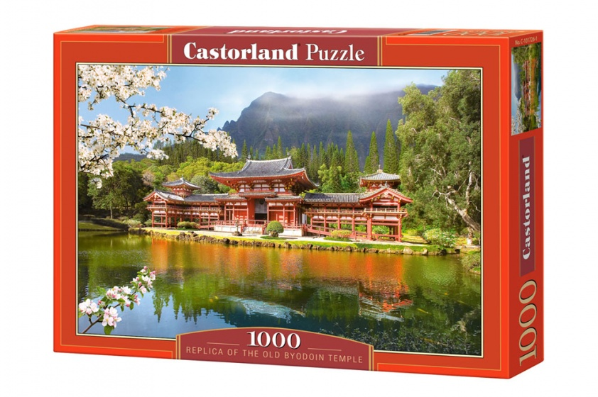 Castorland legpuzzel Replica of the Old Byodion Temple 1000 stukjes