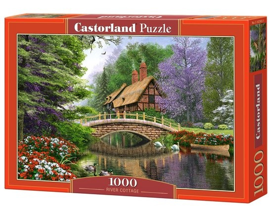 Castorland legpuzzel River Cottage 1000 stukjes
