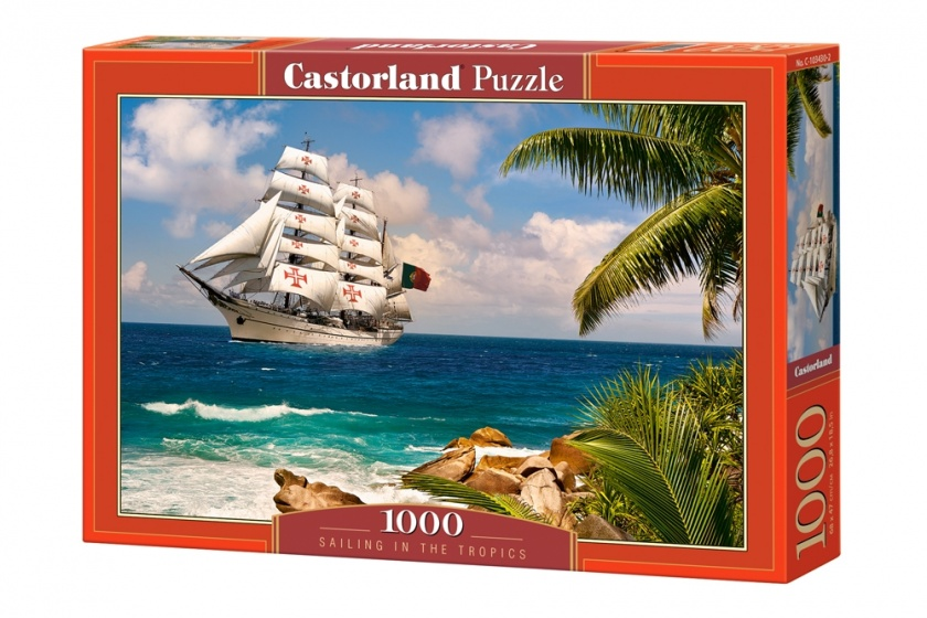 Castorland legpuzzel Sailing in the Tropics 1000 stukjes