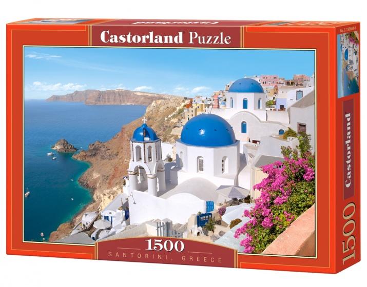 Castorland legpuzzel Santorini, Greece 1500 stukjes