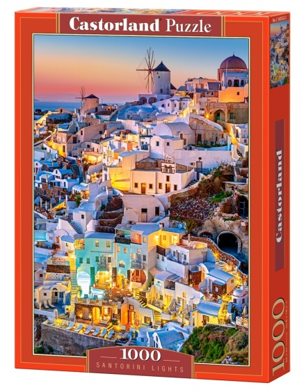 Castorland legpuzzel Santorini Lights 1000 stukjes