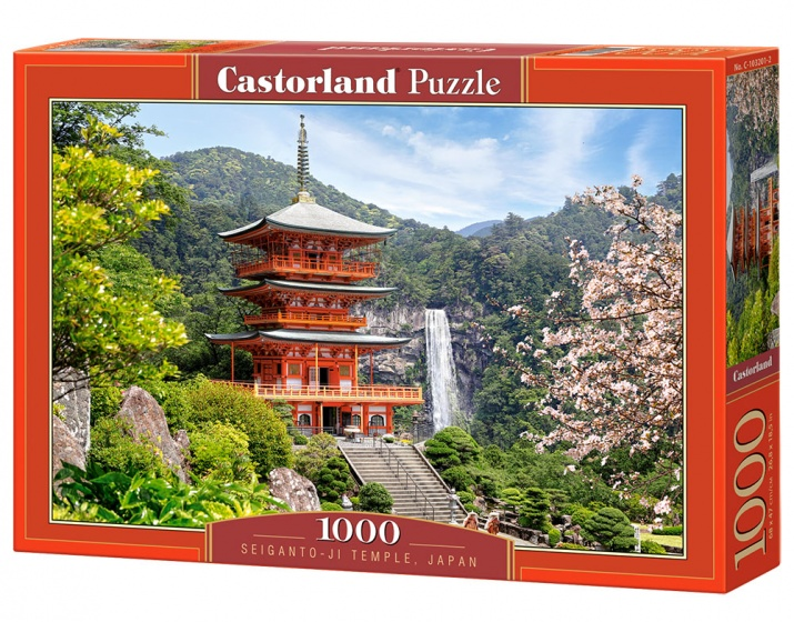 Castorland legpuzzel Seiganto ji Temple 1000 stukjes