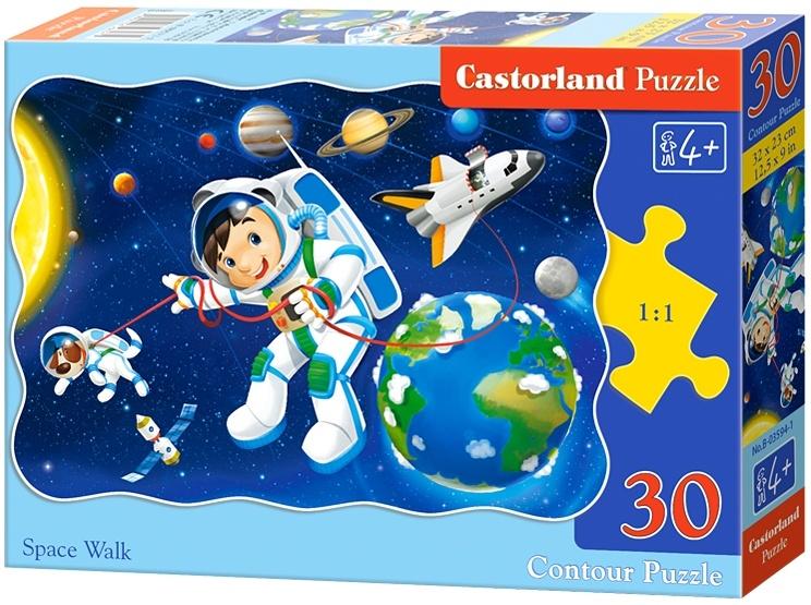 Castorland legpuzzel Space Walk 30 stukjes