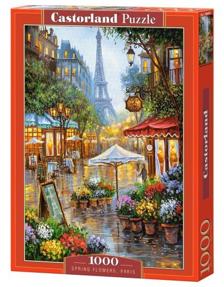 Castorland legpuzzel Spring Flowers Paris 1000 stukjes