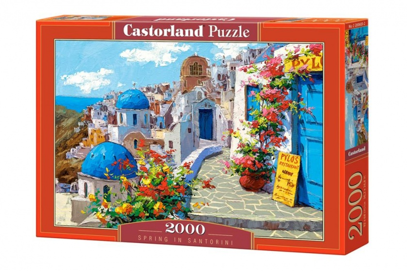 Castorland legpuzzel Spring in Santorini 2000 stukjes