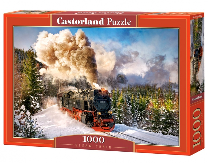 Castorland legpuzzel Steam Train 1000 stukjes