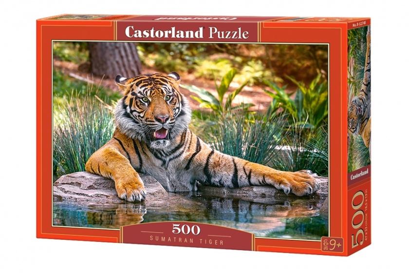 Castorland legpuzzel sumatran tiger 500 stukjes 255090