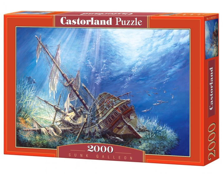 Castorland legpuzzel Sunk Galleon 2000 stukjes
