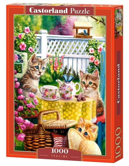 Castorland legpuzzel Teatime 1000 stukjes