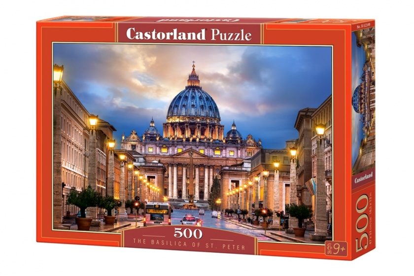 Castorland legpuzzel The Basilica of St. Peter 500 stukjes