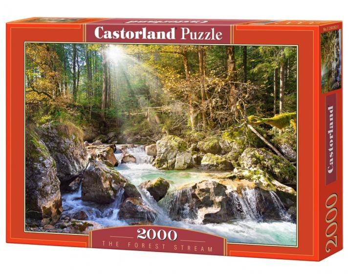 Castorland legpuzzel The Forest Stream 2000 stukjes