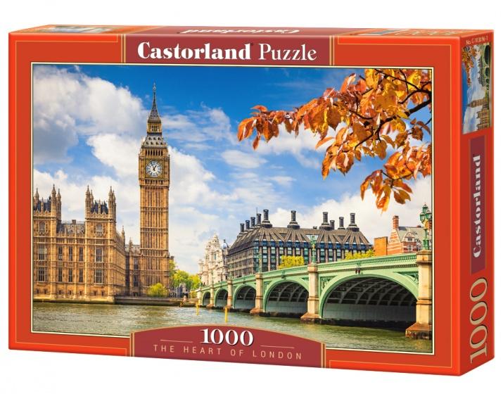 Castorland legpuzzel The Heart of London 1000 stukjes