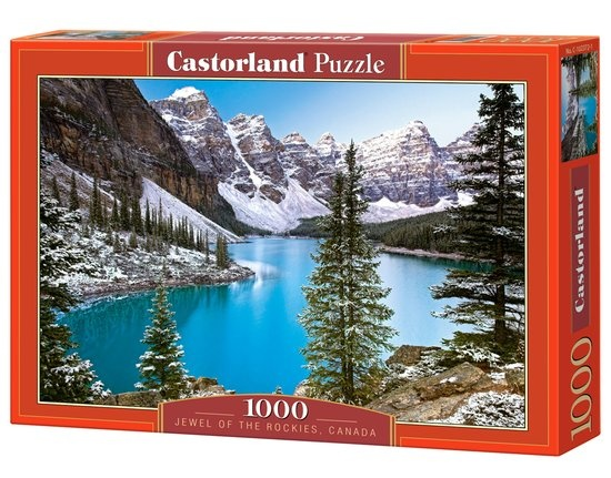 Castorland legpuzzel The Jewel of the Rockies, Canada 1000 stukjes