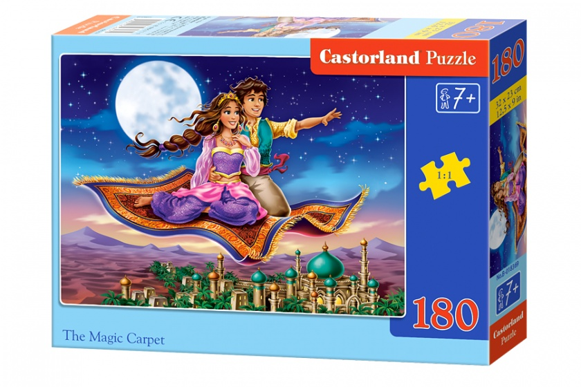 Castorland legpuzzel The magic carpet 180 stukjes