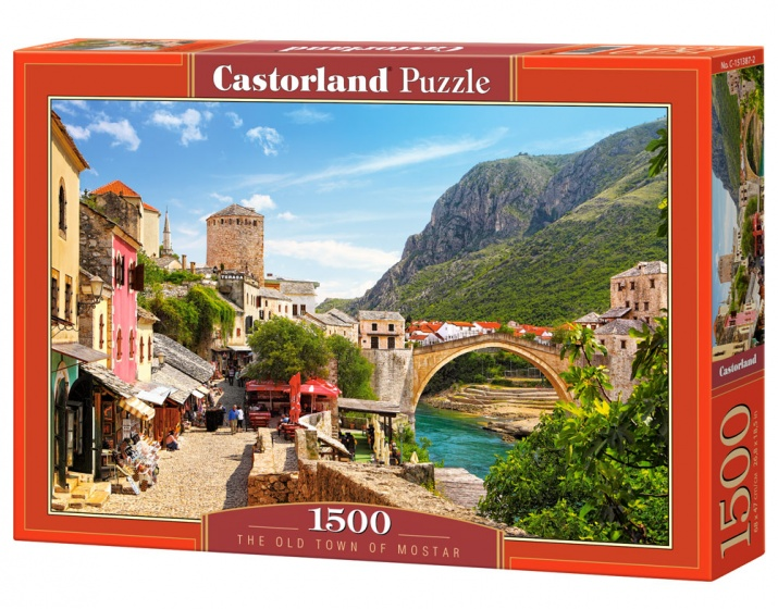 Castorland legpuzzel The Old Town of Mostar 1500 stukjes