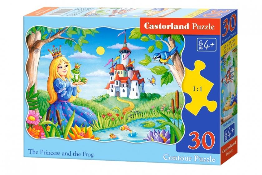 Castorland legpuzzel The Princess and the Frog 30 stukjes