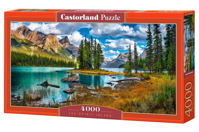 Castorland legpuzzel The Spirit Island 4000 stukjes