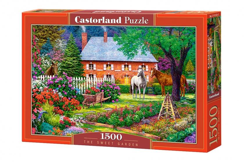 Castorland legpuzzel The Sweet Garden 1500 stukjes