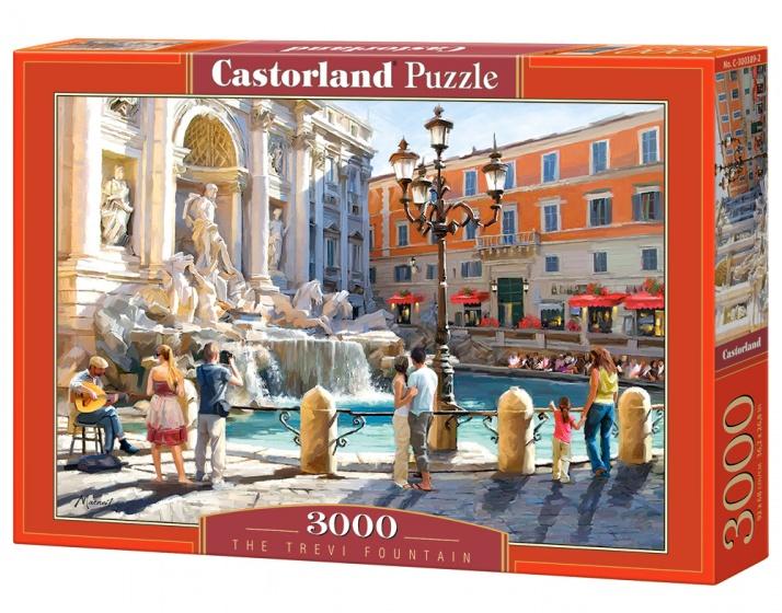 Castorland legpuzzel The Trevi Fountain 3000 stukjes