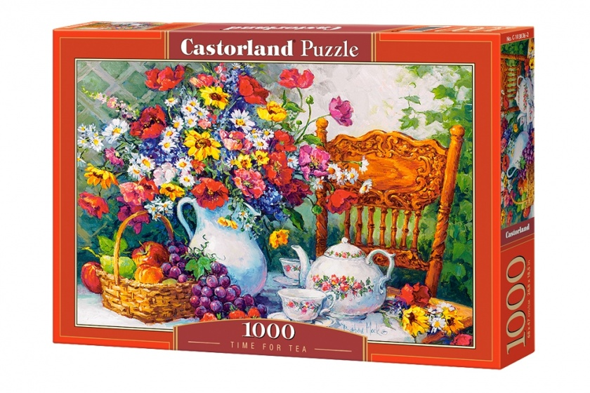 Castorland legpuzzel Time for Tea 1000 stukjes