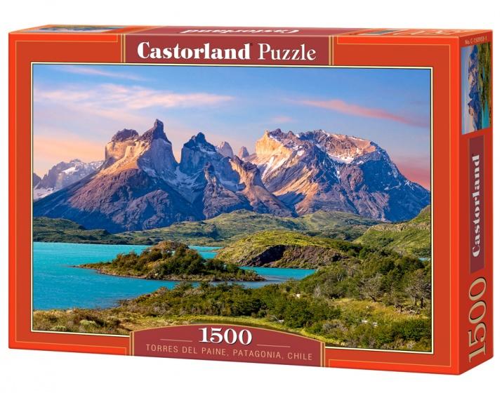 Castorland legpuzzel Torres del Paine, Patagonia 1500 stukjes