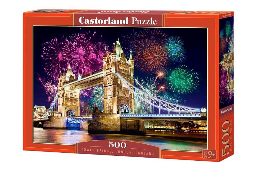 Castorland legpuzzel Tower Bridge, England 500 stukjes