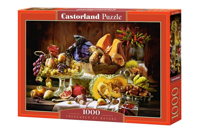 Castorland legpuzzel Treasures of Nature 1000 stukjes