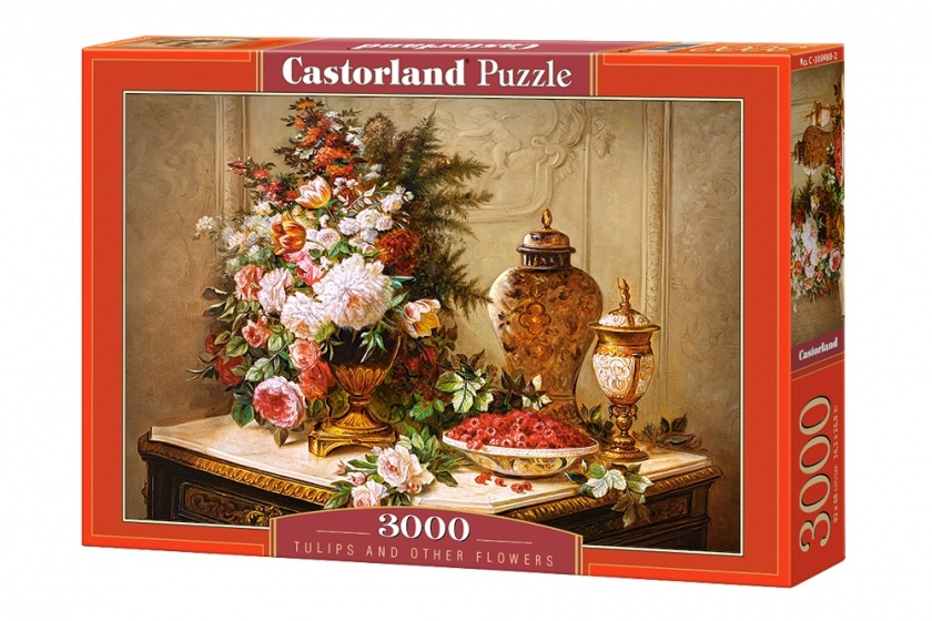 Castorland legpuzzel Tulips and other Flowers 3000 stukjes