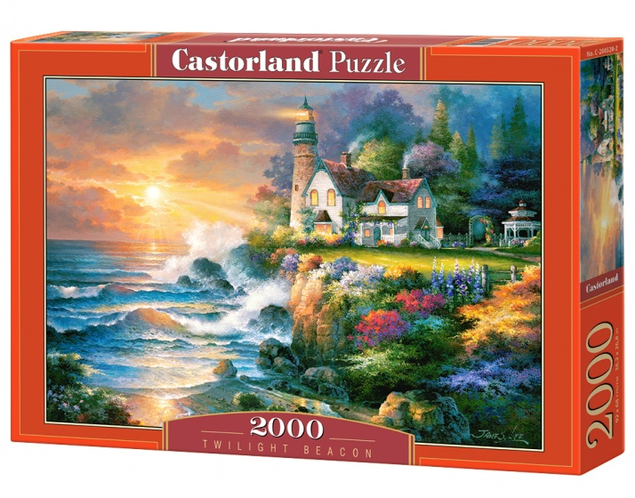 Castorland legpuzzel Twilight Beacon 2000 stukjes