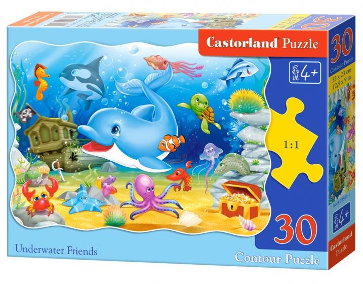 Castorland legpuzzel Underwater Friends 30 stukjes