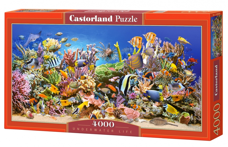 Castorland legpuzzel Underwater Life 4000 stukjes