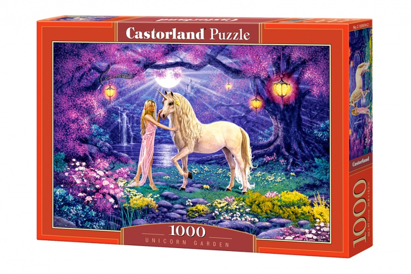 Castorland legpuzzel Unicorn Garden 1000 stukjes