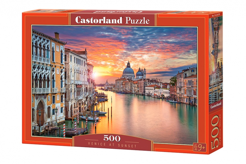 Castorland legpuzzel Venice at sunset 500 stukjes